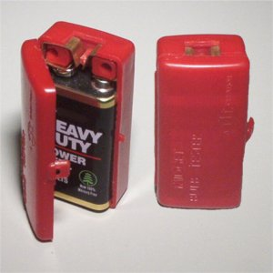 A 1970s Era Midget Bulb Tester Which Is Now Obsolete. This Simple Device  Used A 9 Volt Transistor Battery To Test Wedge Base Bulbs.